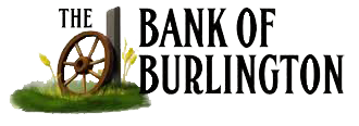 The Bank of Burlington Logo
